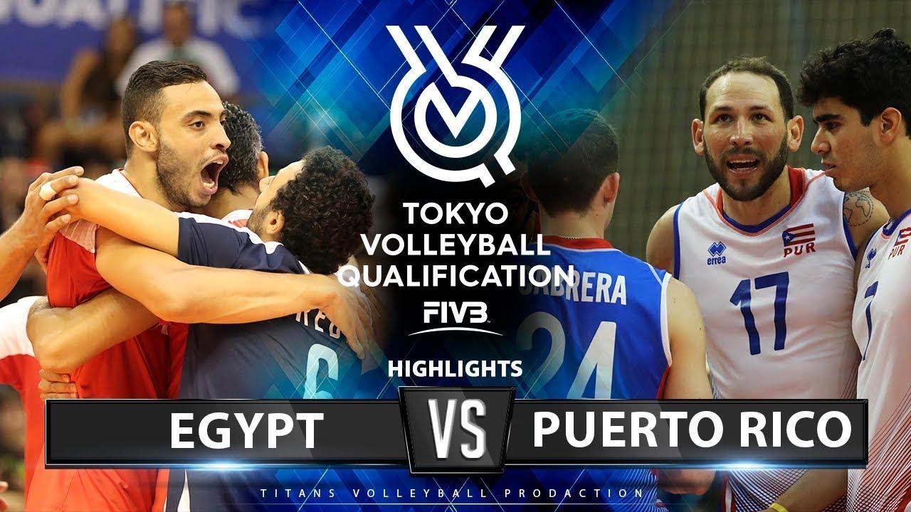 Download Egypt vs Puerto Rico | Highlights Men's OQT 2019
