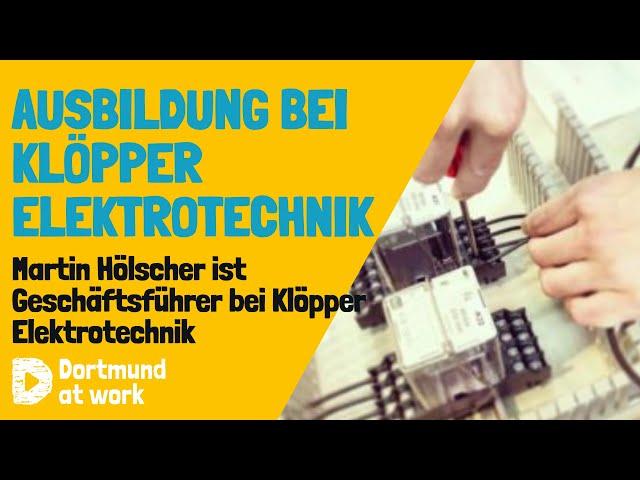 Ausbildung bei Klöpper Elektrotechnik