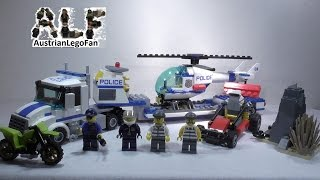 Lego City 60049 Helicopter Transporter / Polizei Hubschrauber Transporter - Lego Speed Build Review