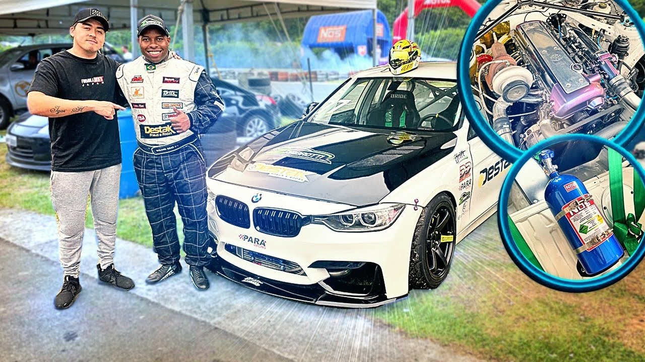 A BMW 1JZ DE DRIFT MAIS LINDA DO BRASIL