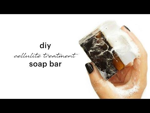 DIY Cellulite Treatment Soap Bar | Melt & Pour Soap Recipe