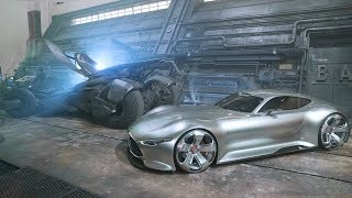 Justice League  Making of – with the E Class Cabriolet & Vision Gran Turismo