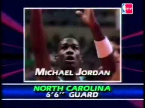 NBA draft 1984 - Michael Jordan
