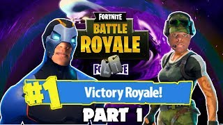 If I Get 2 Eliminations, My Brother Ows Me A Steam Game | FORTNITE BATTLE ROYALE Part 1