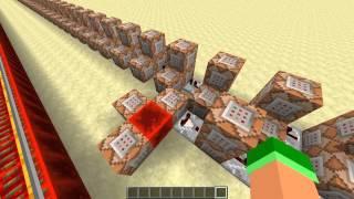 Mario Kart's Blue Shell in Minecraft!