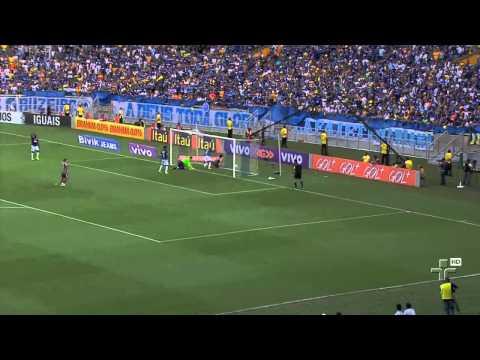 Cruzeiro Recebe A Taça De Campeão Brasileiro - 08/12/2014