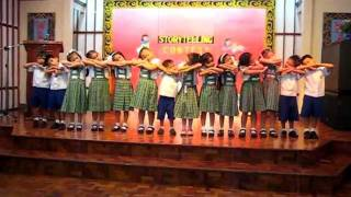 Allen @ kinder presentation.. Make Me a Servant song.AVI