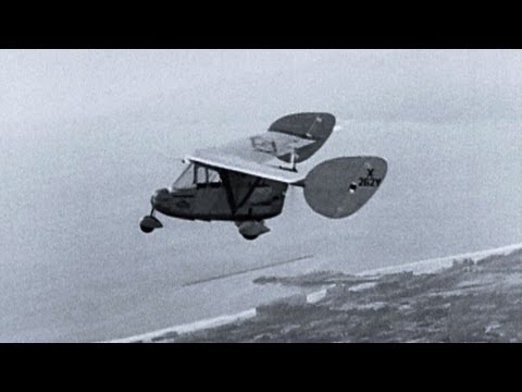 Who Invented The First Car >> The World's First Flying Car - YouTube