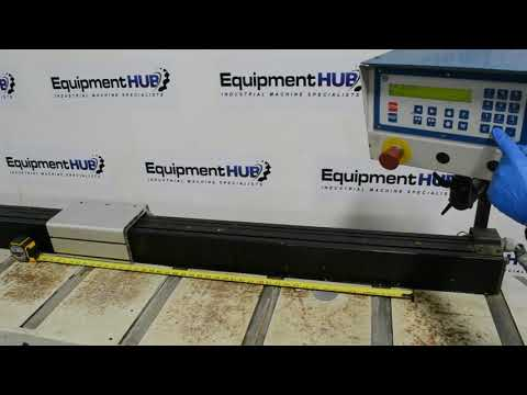 Omga FP 4000 SX 15' Overall Length Programmable Stop / Pusher Fence