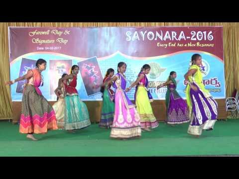 SAYONARA 2016 - Bhajare Nanda Gopala - Apoorva College Karimnagar