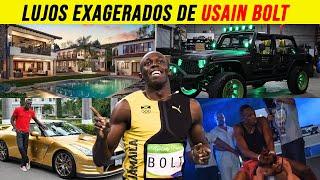 Lujos Exagerados de USAIN BOLT - The Bro!