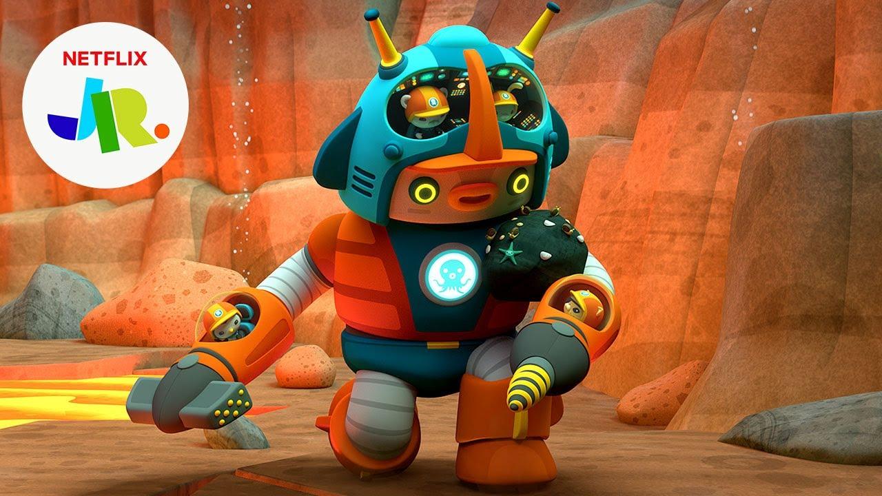 Gup-Z Mantis Shrimp Mode: Go! ?? Octonauts & the Ring of Fire   Netflix Jr