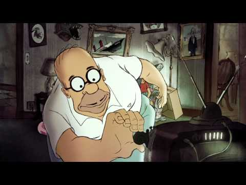 Chomet Couch Gag from Diggs  THE SIMPSONS  ANIMATION on FOX