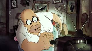 Download Chomet Couch Gag from Diggs  THE SIMPSONS  ANIMATION on FOX Mp3 and Videos