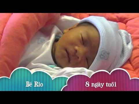 Rio - con trai Lý Hải 8 ngày tuổi