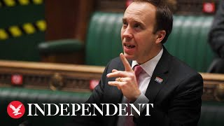 Live: Matt Hancock addresses MPs on coronavirus