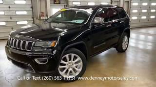 1773X 2017 Jeep Grand Cherokee Limited