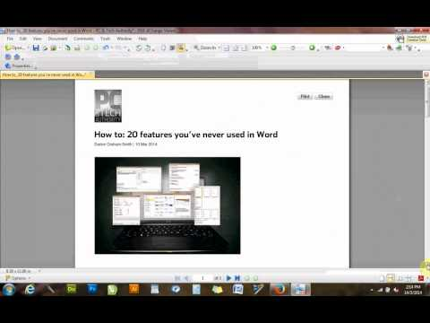 add bookmarks and hyperlinks to pdf using free XChange viewer
