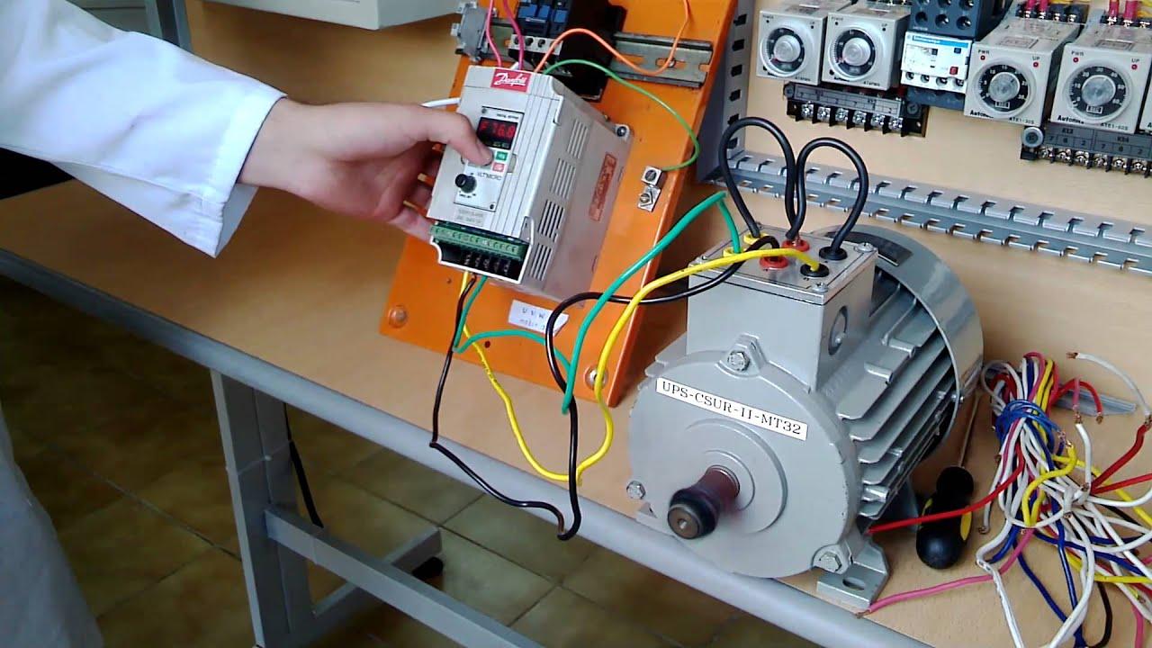 Danfoss Vlt Micro Drive Wiring Diagram Aqua Variador De Frecuencia Youtuberhyoutube