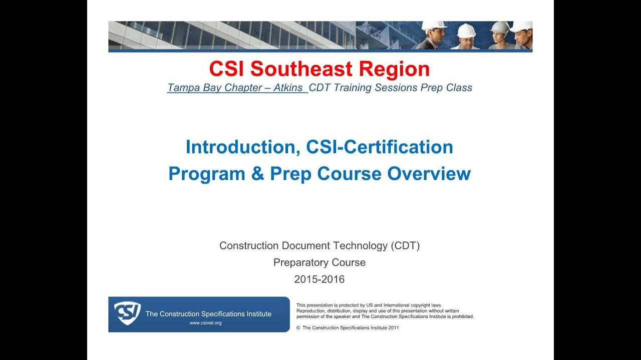 Cdt Exam Prep Training Sessions Introduction December 01 2015 Youtube