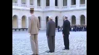 PM Shri Narendra Modi's ceremonial welcome in Paris, France