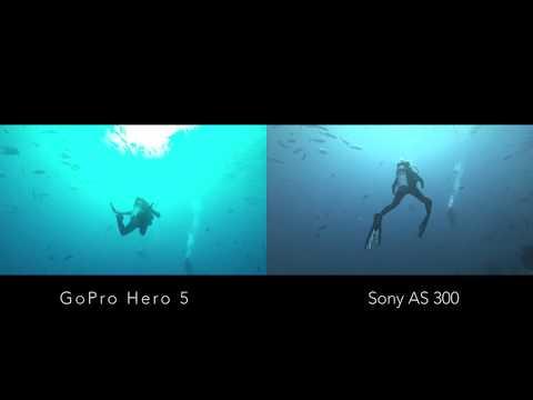 GoPro Hero 5 VS Sony AS 300