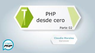 PHP desde cero HD parte 2