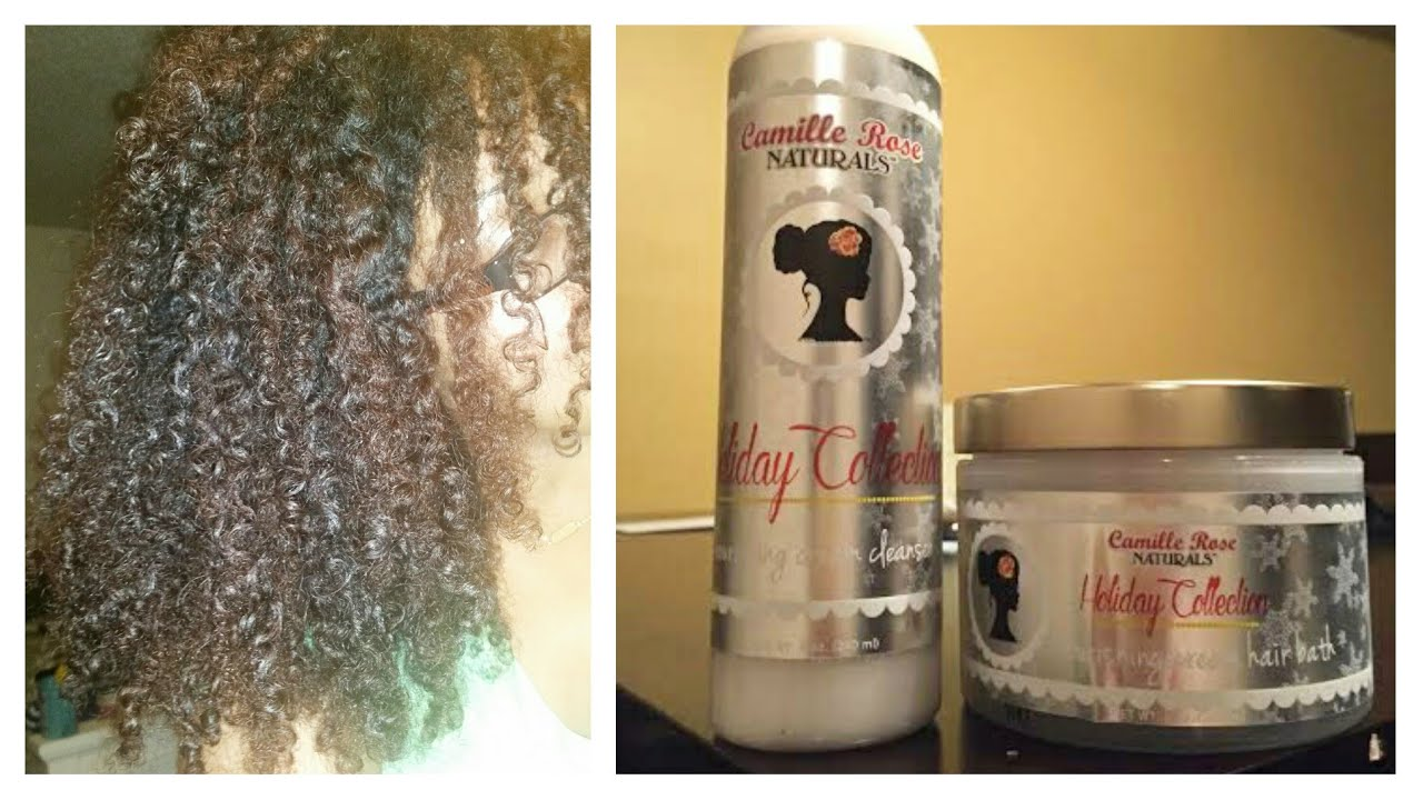 Camille Rose Naturals Holiday Collection Leave In And Dc Ashkins Curls