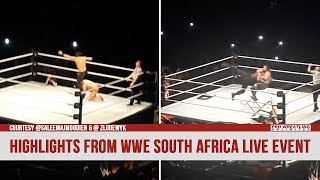 Highlights From WWE's Cape Town South Africa Live Event (VIDEO)