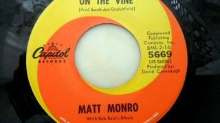 Matt monro - Honey on the vine