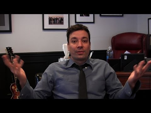 Ask Jimmy: Favorite Cities, The Internet, and GIFs (Late Night with Jimmy Fallon)