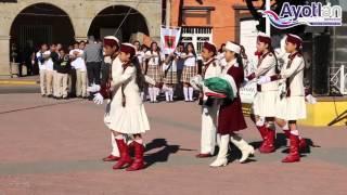 Ayotlán Jalisco dia de la bandera