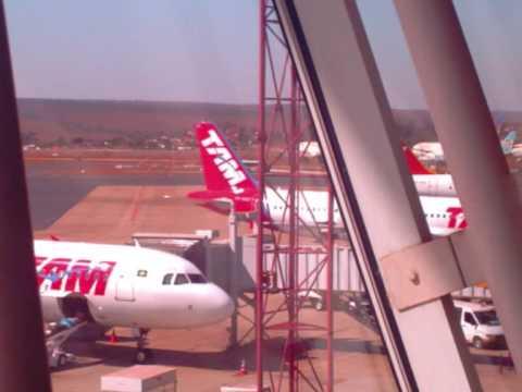 Fotos Tam no aeroporto de Brasilia