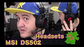Unboxing&Opiniones -MSI DS502 Gaming Headsets-
