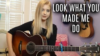 look what you made me do | taylor swift | caroline dare (cover)