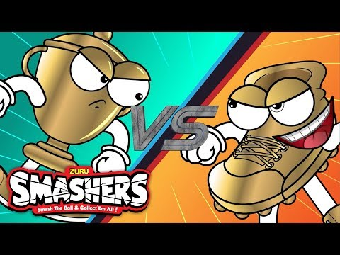 SMASHERS | Goldy Vs Champ| Smash Zone Episode 6 | Cartoons for Children