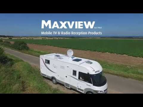 Maxview - Crank Up Roof Mounted Satellite System