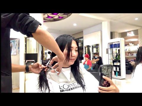 long-to-short-haircut-|-potong-rambut-bob
