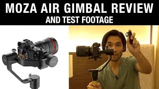Moza Air Gimbal: Review + Test Footage