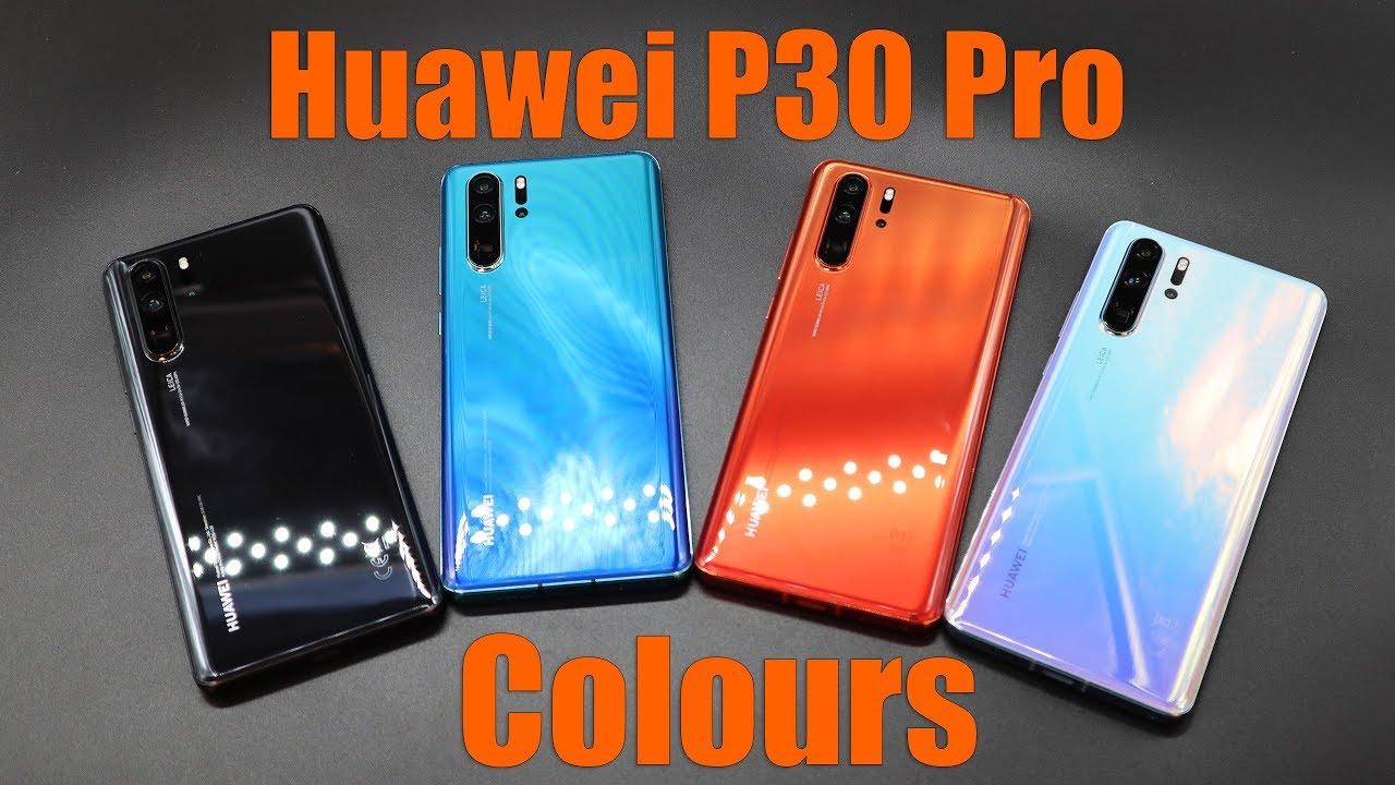 Huawei P30 Pro Colours Youtube