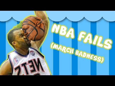 NBA - Basketball Fails and Bloopers! ?- March thumbnail