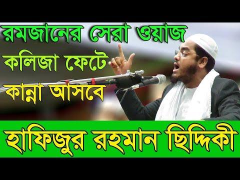 Bangla Waz 2017 Hafizur Rahman Siddiki