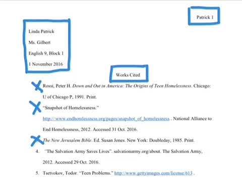 mla works cited website