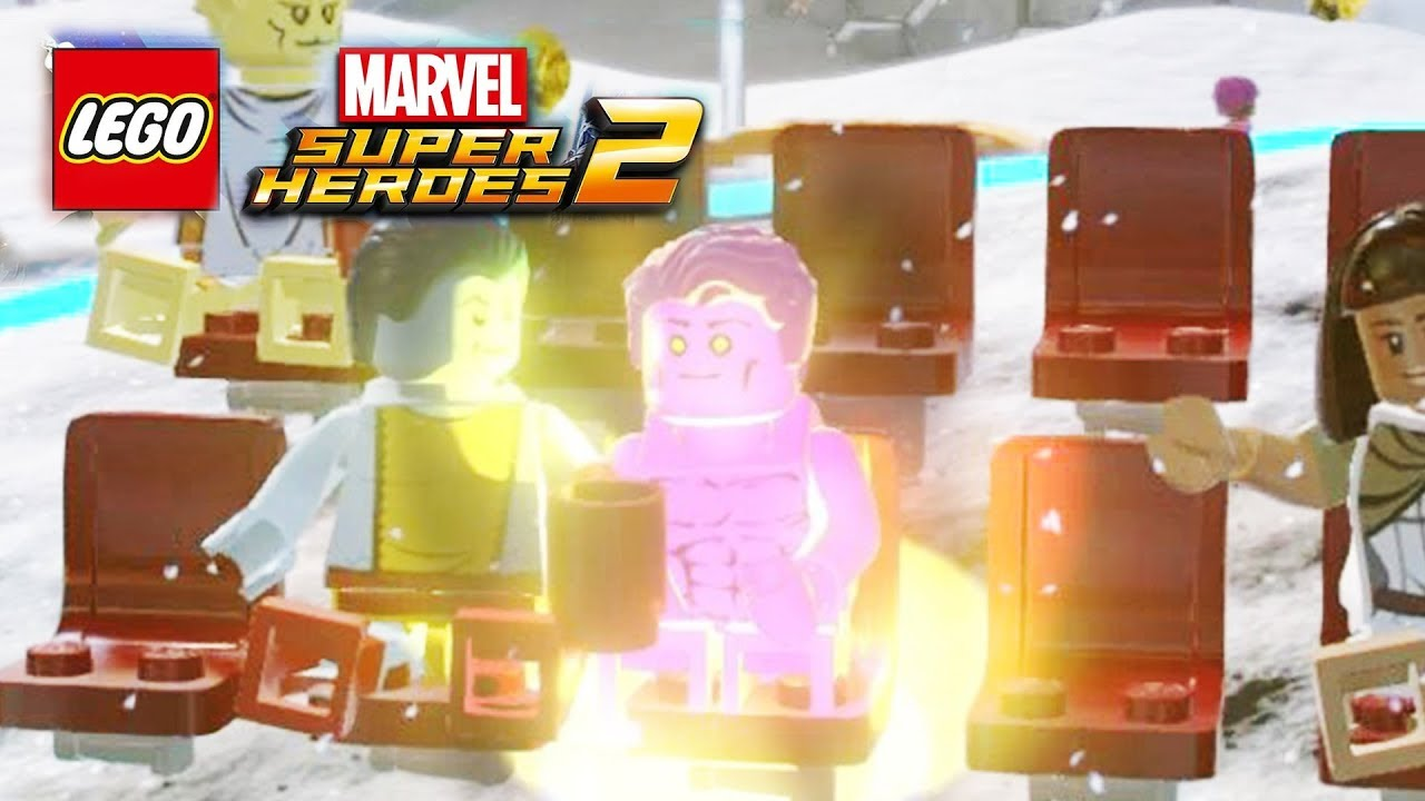how to get gold bricks lego marvel