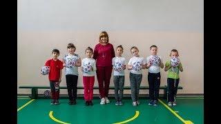 Урок фізичної культури у 2 класі с.Синьків