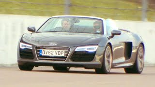 Mercedes VS Audi VS Maserati High Speed Stability Fifth Gear смотреть