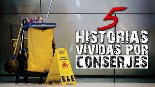 5 Historias inquietantes vividas por CONSERJES II │ MundoCreepy │ MaskedMan