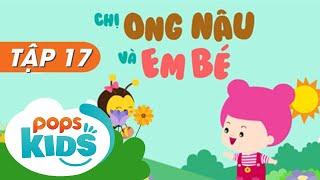 Mầm Chồi Lá Tập 17  – Chị Ong Nâu Và Em Bé | Nhạc Thiếu Nhi Hay Cho Bé | Vietnamese Songs For Kids