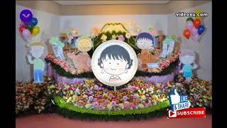 まるちゃん囲んで3万本の花 さくらももこさんしのぶ会