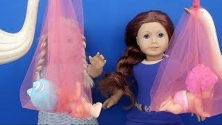 Bebekleri Leylekler Getirdi! Play Little Baby Bizzy Bubs - Fun Kids Video Bidünya Oyuncak